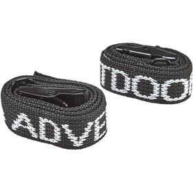 CAMPZ Tension Belts Set of 2 black
